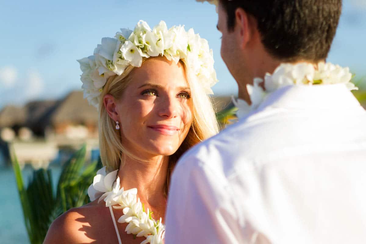 beautiful bora bora bride