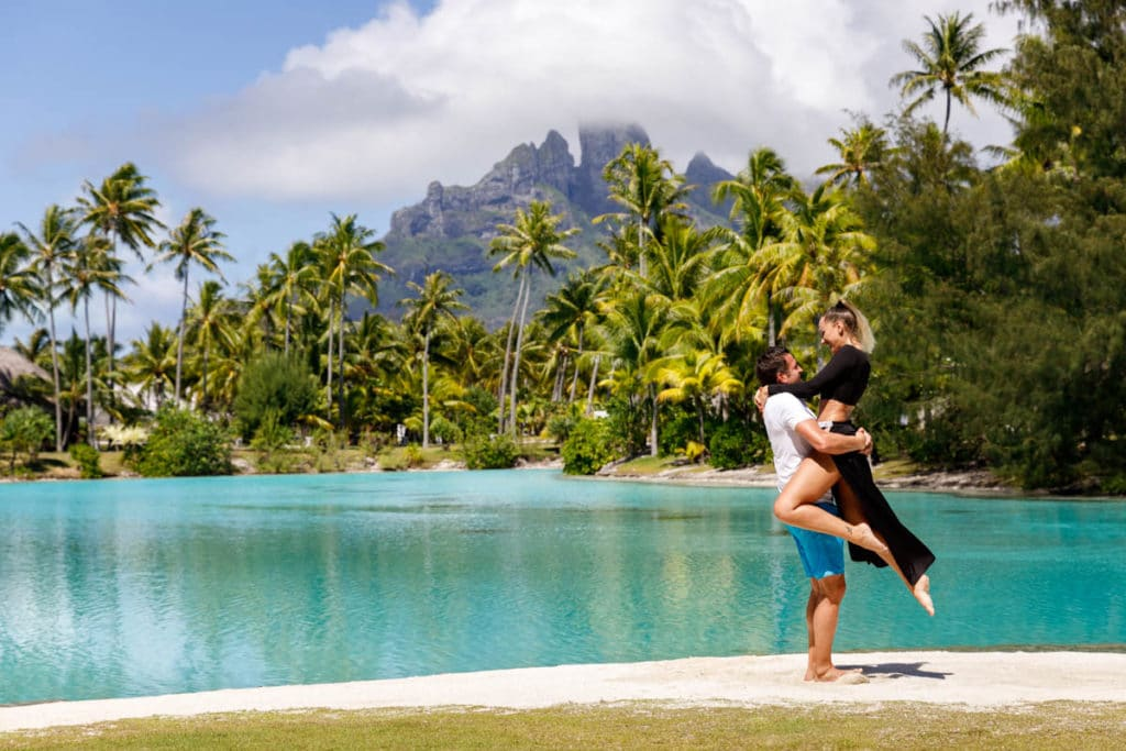 St Regis is considered one of the best resort in Bora Bora
