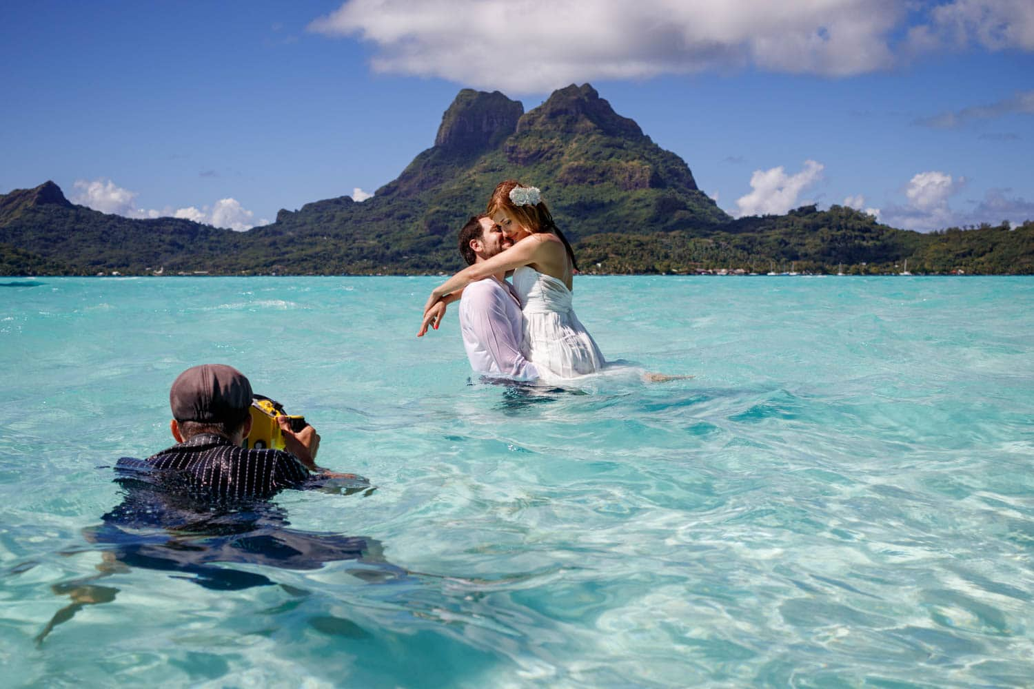 Price for a photoshoot in Bora Bora : photographer cost