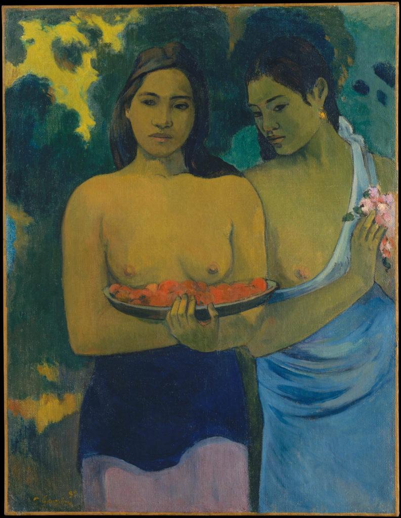 Two Tahitian Women - The Metropolitan Museum of Art - Paul Gauguin